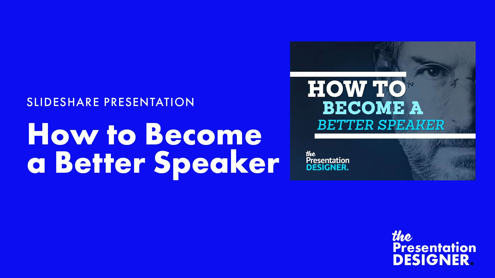 how to become a better speaker 1